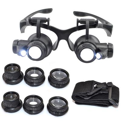 Jewelry Optical Magnifier Glasses 30x Magnifying Lens Jewelries Loupes Tool HOT