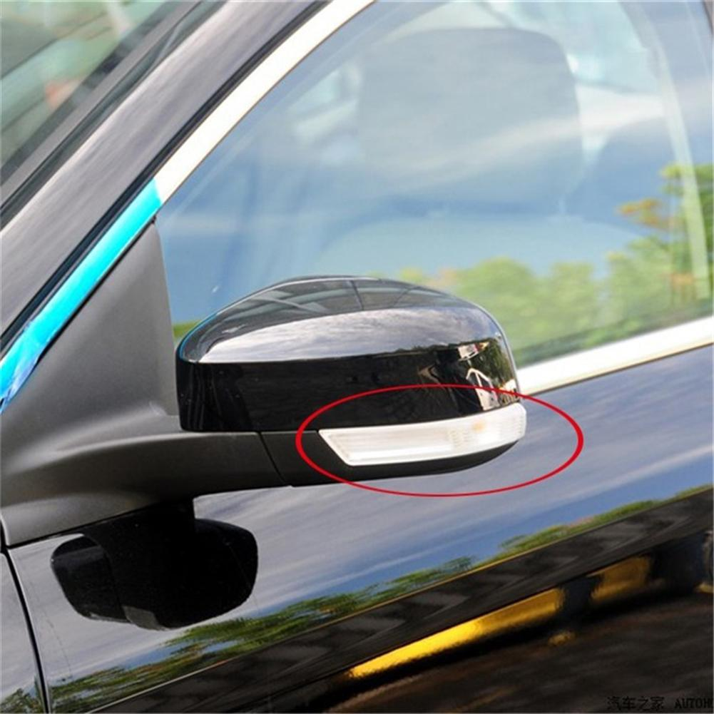 1 Pair of Wing Mirror Indicator,Turn Signal Light Lens Cover for Ford Focus 2008-2018. LED Turn Signal Lights