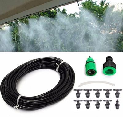 20Pcs Garden Sprinkler Irrigation Misting Watering Nozzle Spray Tee Joints