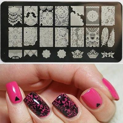 36 Style Cala Nail Art Stamp Collection Nailart Polish Manicure