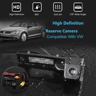 HD 170° Wide Car Frontview Backup Parking Assistance Camera  Snap-in Design