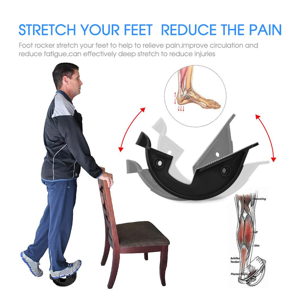 Foot Rocker, Calf Stretcher Ankle Plantar Board for Achilles Tendonitis,  Muscle Stretch, Feet and Shin Splint Pain Relief-buy at a low prices on  Joom e-commerce platform