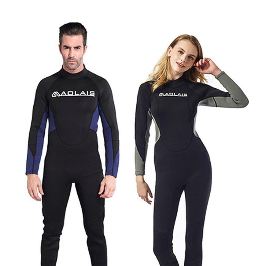2951e330f9 3mm Neoprene Scuba Diving Wetsuit Snorkeling Surfing Swimwear Jumpsuit for  Men-buy at a low prices on Joom e-commerce platform