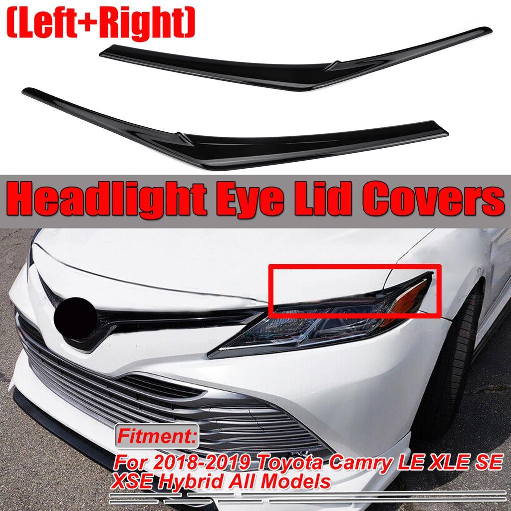 4X For Toyota Highlander 2015-2018 Carbon fiber style Interior Handle Cover trim