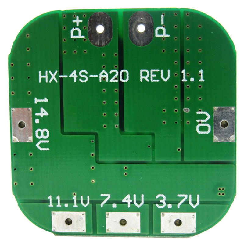 4S 14.8V 20A Lithium Charging Battery Overcharge Short Circuit Protection Board