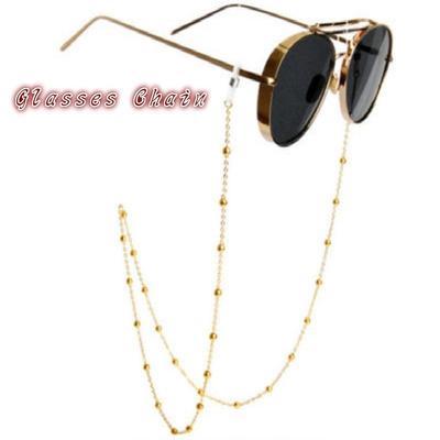 f8a128f7b5b Lectura cadena gafas mujer gafas de sol Metal cordones correas de retención  de cordón lente moldeada