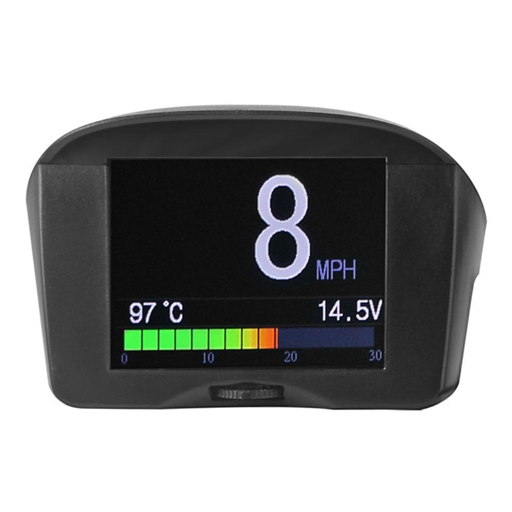 AUTOOL OBD2 OBD II HUD Head Up Display Digital Car Computer Auto ECU Film Gauge Speed Meter Electronic Monitor Diagnosis Tool with Display KMH MPH