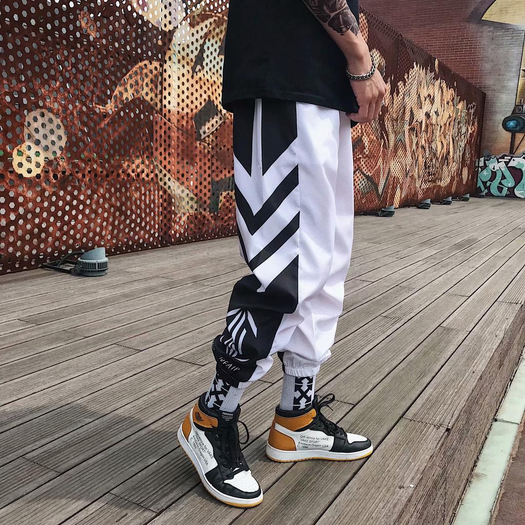 Hip-Hop Men Casual Jogger Sportwear Baggy Harem Pants Slacks Trousers Sweatpants