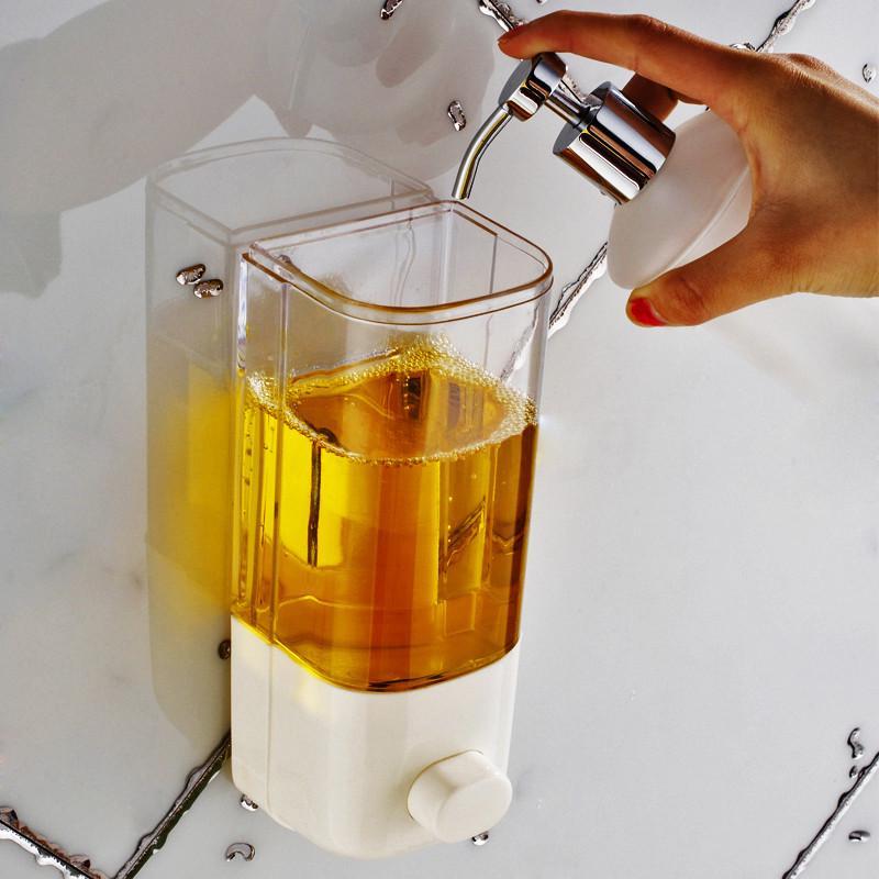 Pdtoweb 500мл Стена Маунт Ванная комната мыло дозатор душ Лопоон Шампунь жидкий дезинфицирующее средство – купить по низким ценам в интернет-магазине Joom