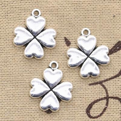 Tibetan silver charms Jewellery Making Hobby Craft Bracelet Feather X 12
