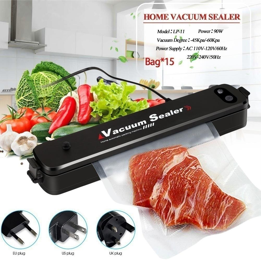 NEW Portable Food Vacuum Sealer Bag Packing Machine Sous Vide Kitchen Storage UK