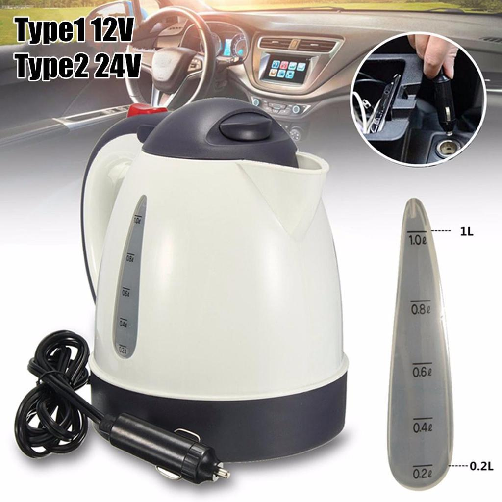 12V//24V Travel Electric Hot Boiler Immersion Car Water Heater  Auto  Coffee Tea