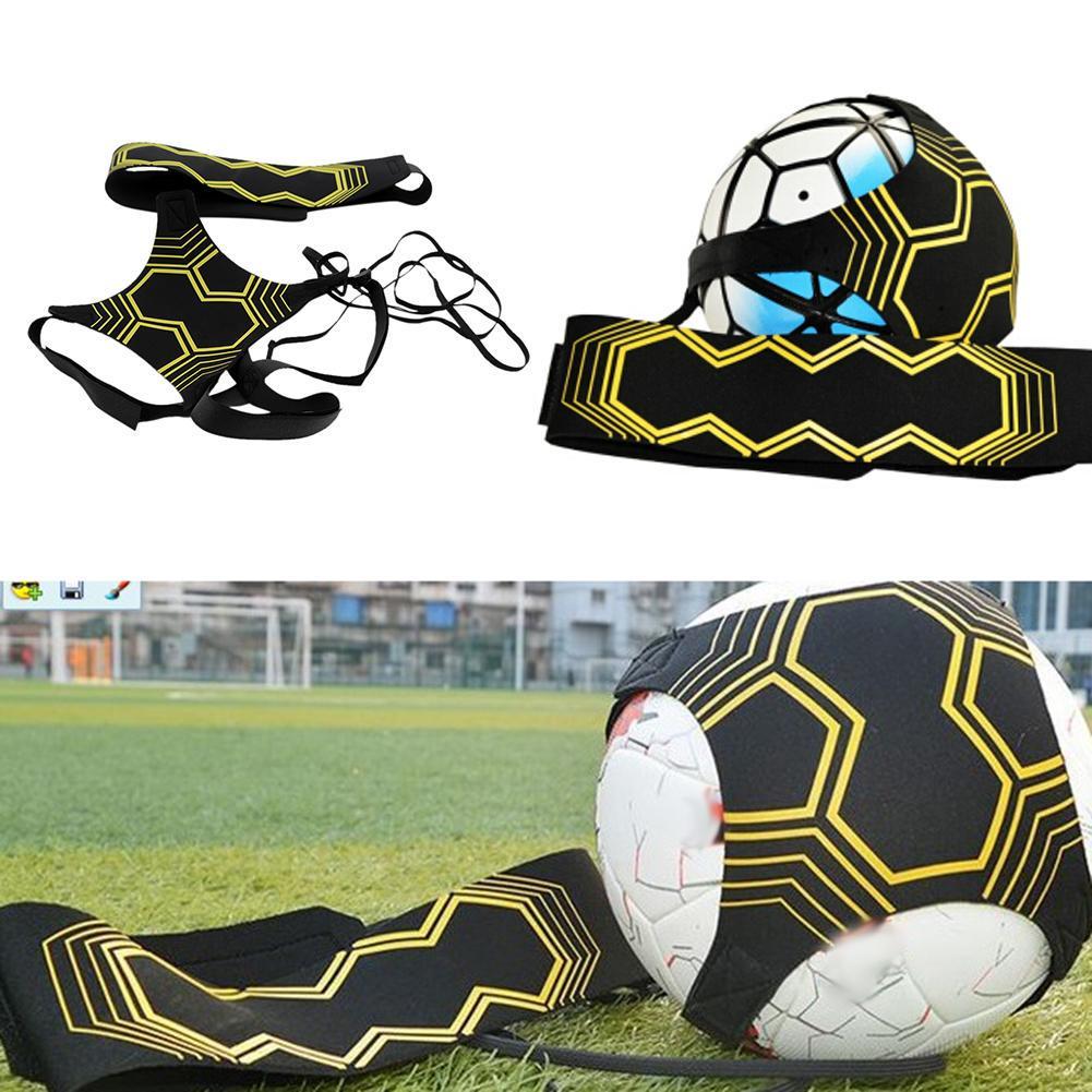Football Kick Trainer Skill Soccer Training Equipment Elastic Practice Belt