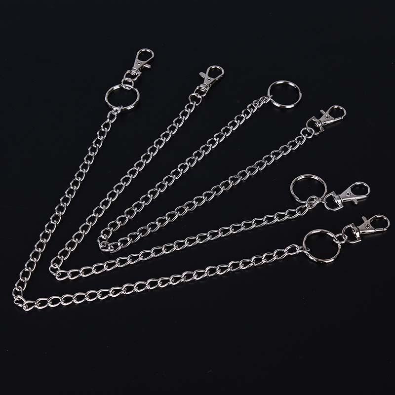 Панк-удлиненные хипстеры Key кошелек ремень кольцо клип цепи брелок 3 типы фото