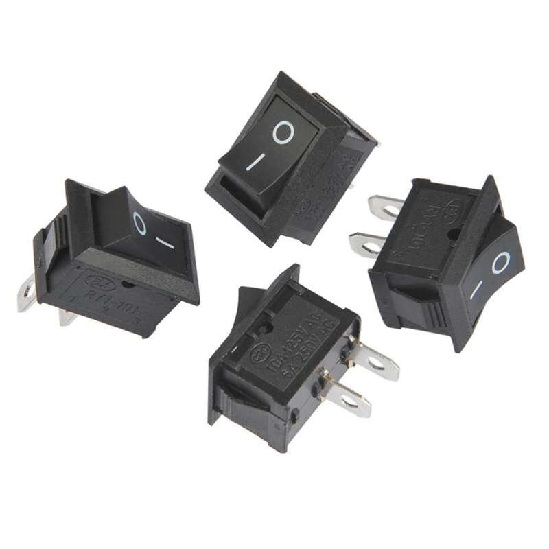 2*1.4*2cm Cool Auto Car Truck Boat Round Rocker ON//OFF Toggle SPST Switch 1PC