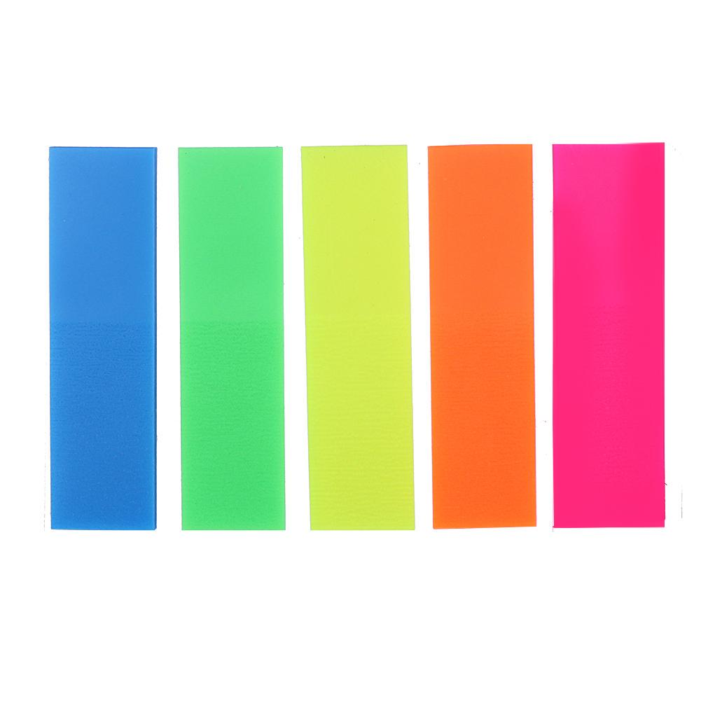 100pcs plastic self adhesive memo pad sticky notes bookmark marker index pape rE
