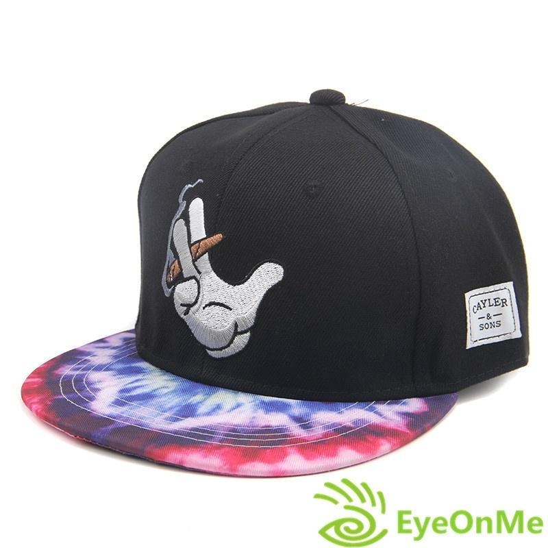 7e30a90a1e7 New Men s Fashion Bboy Brim Adjustable Baseball Cap Snapback Hip-hop Hat-buy  at a low prices on Joom e-commerce platform