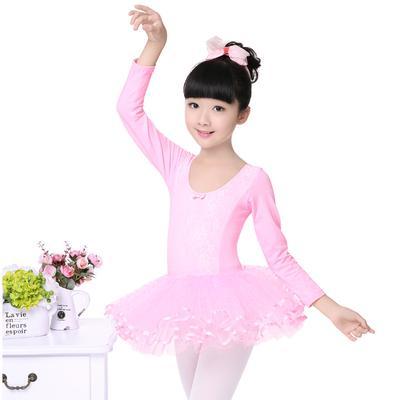 Primavera las niñas gasa manga larga arco rendimiento niños baile Ball  vestido de encaje princesa disfraz a4e197d3471