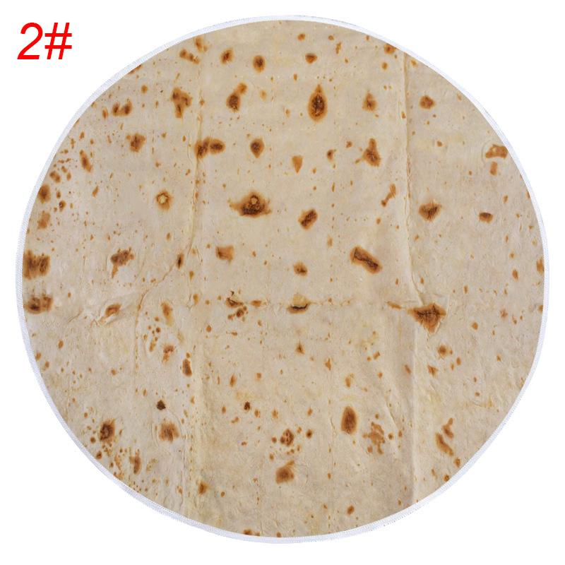ORIGINAL Burrito Blanket Throw Tortilla Texture Soft Blanket High Quality