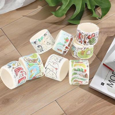 8rolls Set Washi Tape Colorful Decorative Masking Tape For