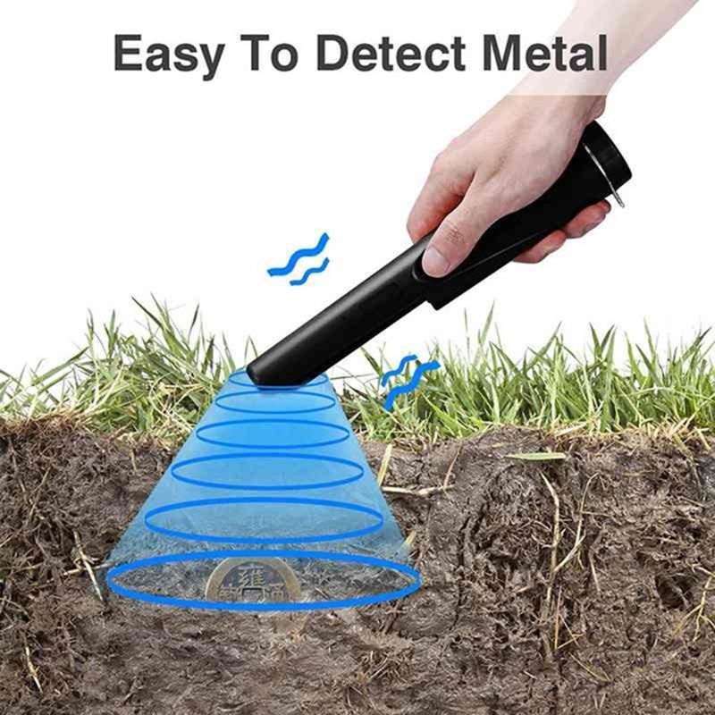 GP-Pointer Probe Metal Gold Detector Vibration Light Alarm Security Pin PoinR.JQ