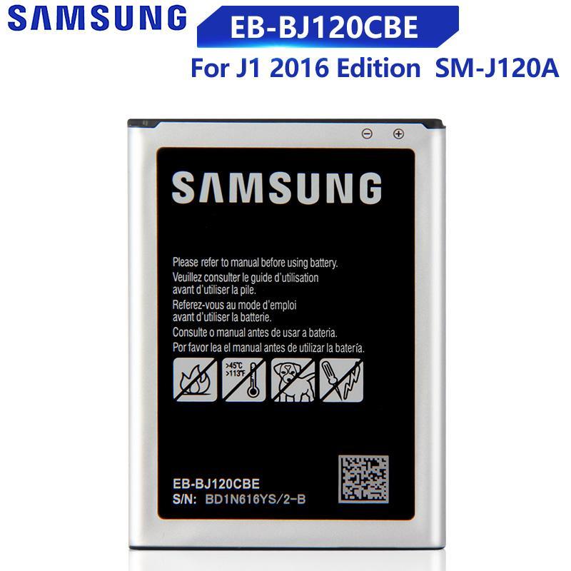 Samsung Оригинальный EB-BJ120CBE Телефонная батарея для Samsung Галактика Экспресс 3 J1 2016 SM-J120A SM-J120F SM-J120F/DS J120H J120ds 2050mAh – купить по низким ценам в интернет-магазине Joom