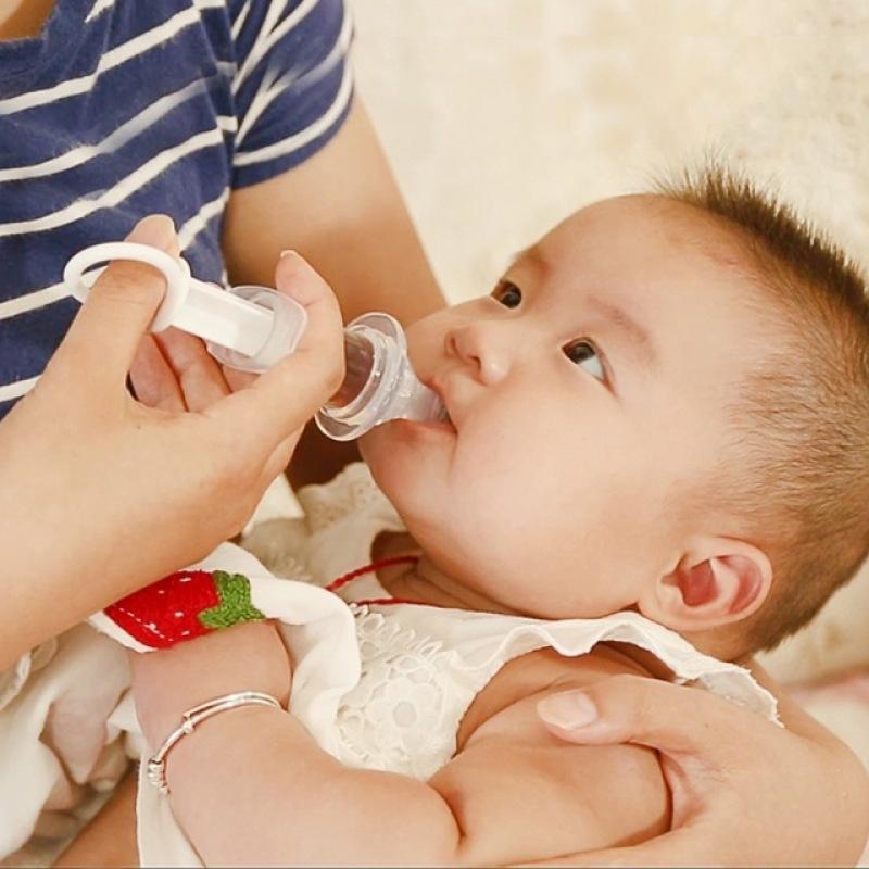 Прозрачные Baby выжать медицины капельницы распределитель ребенка соску иглы фидер фото