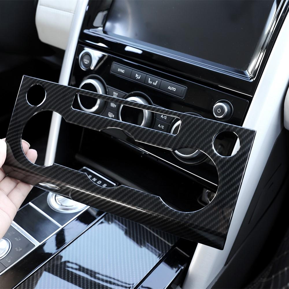 For Land Rover LR4 Discovery 4 2014-2017 carbon fiber Air Conditioning Panel