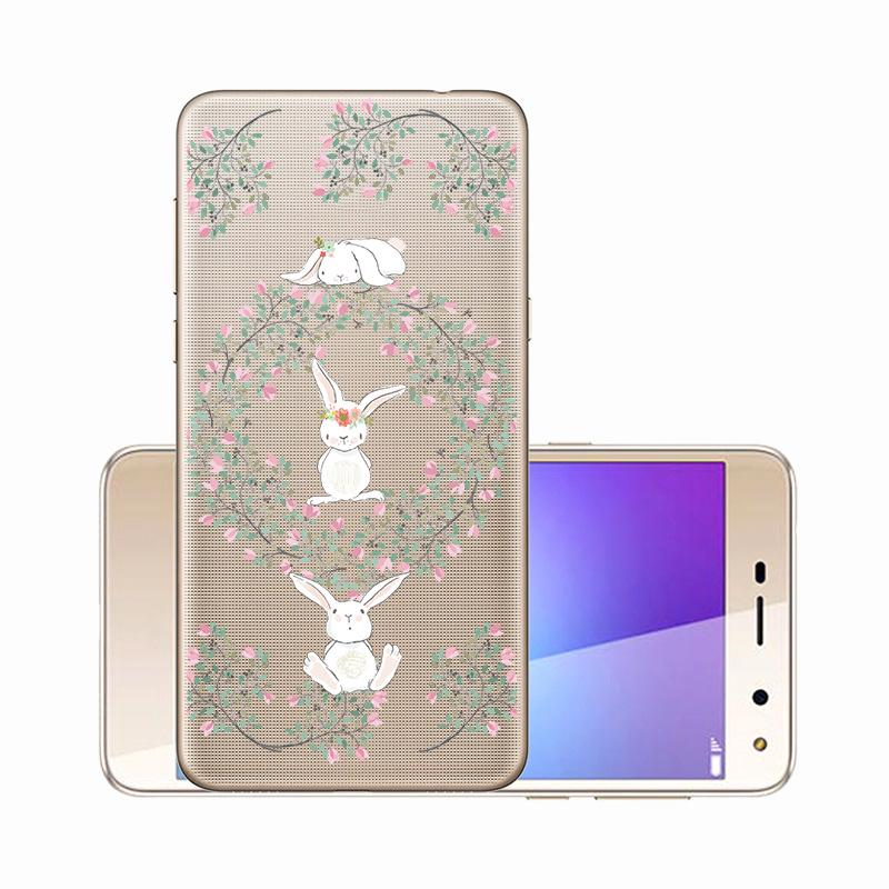 Silicone Phone Case For Huawei P8 Lite Cover for Huawei P8lite Case Clear Printed Cover Soft Coque