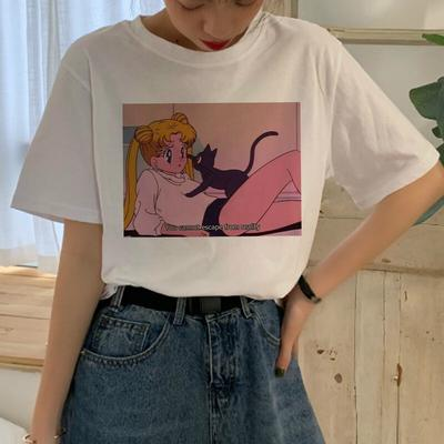 Kawaii Sailor Moon Harajuku T Shirt Women Ullzang 90s Cartoon Aesthetic T Shirt Cute Graphic Buy At A Low Prices On Joom E Commerce Platform Want to discover art related to cartoon_aesthetic? usd
