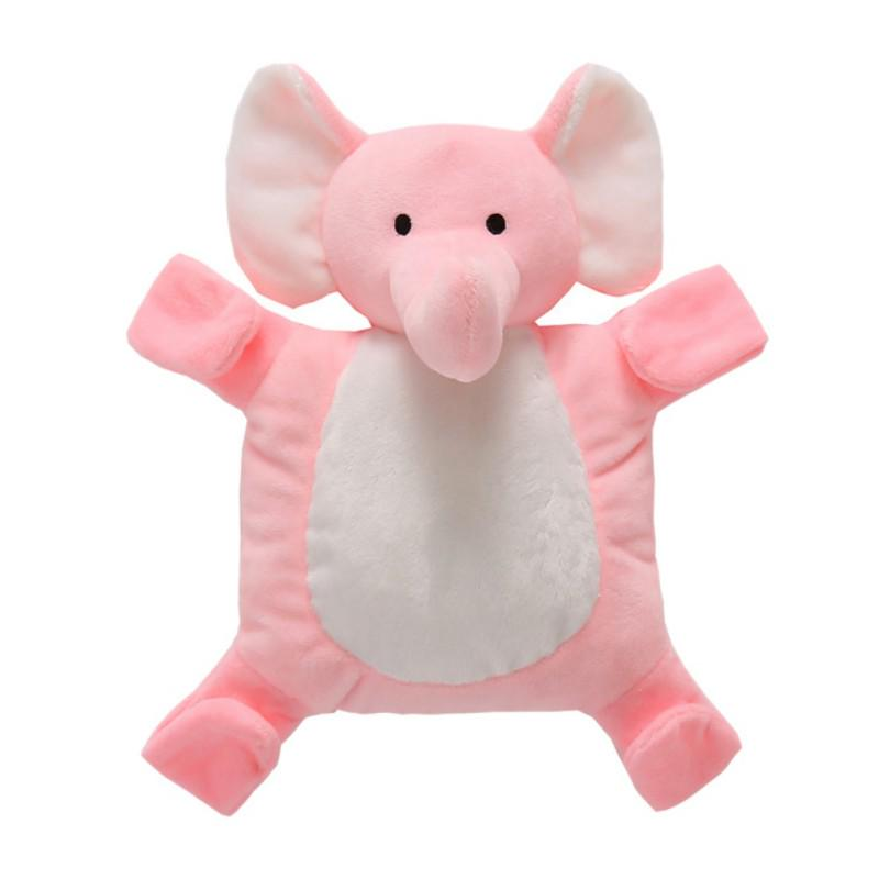 Unisex Baby Security Blanket Soft Stuffed Animal Elephant Plush Tags Blanket Soothing Toy Teether Toy Comfort Appease Towel for Baby Toddler Infant,Best Shower Gift
