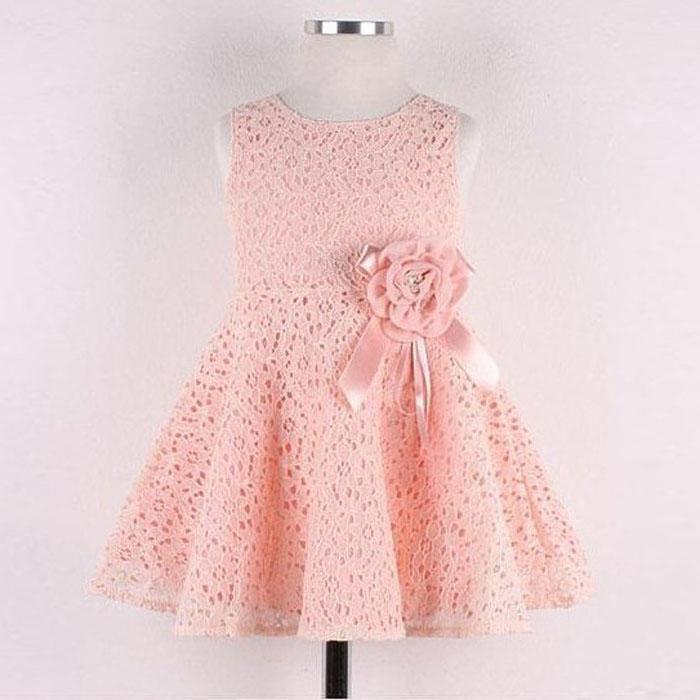 Niñas niños total encaje Floral un pedazo vestido niño princesa ...