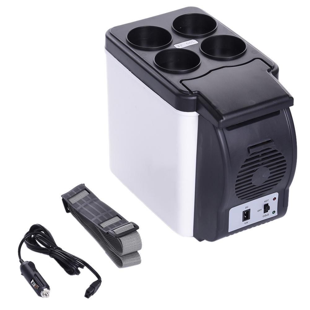 10L Mini R/éfrig/érateur 12 V Voiture R/éfrig/érateur Voiture Glaci/ère /À Double Usage Voiture Maison Chaud Froid Mini Cong/élateur