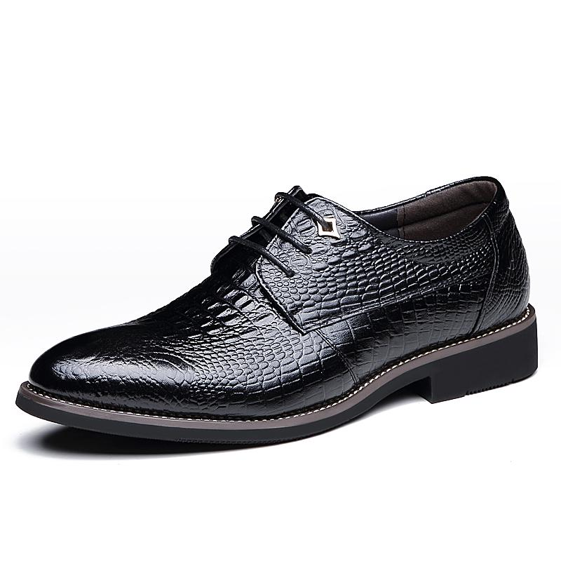 Details about  /Mens Business Wedding Party Oxfords Casual Genuine Leather Formal Suits Shoes L