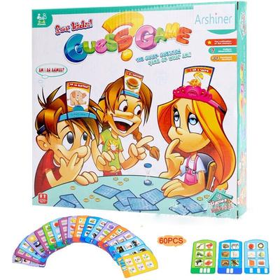 Card guessing game Board game Party game Toys Hobbies