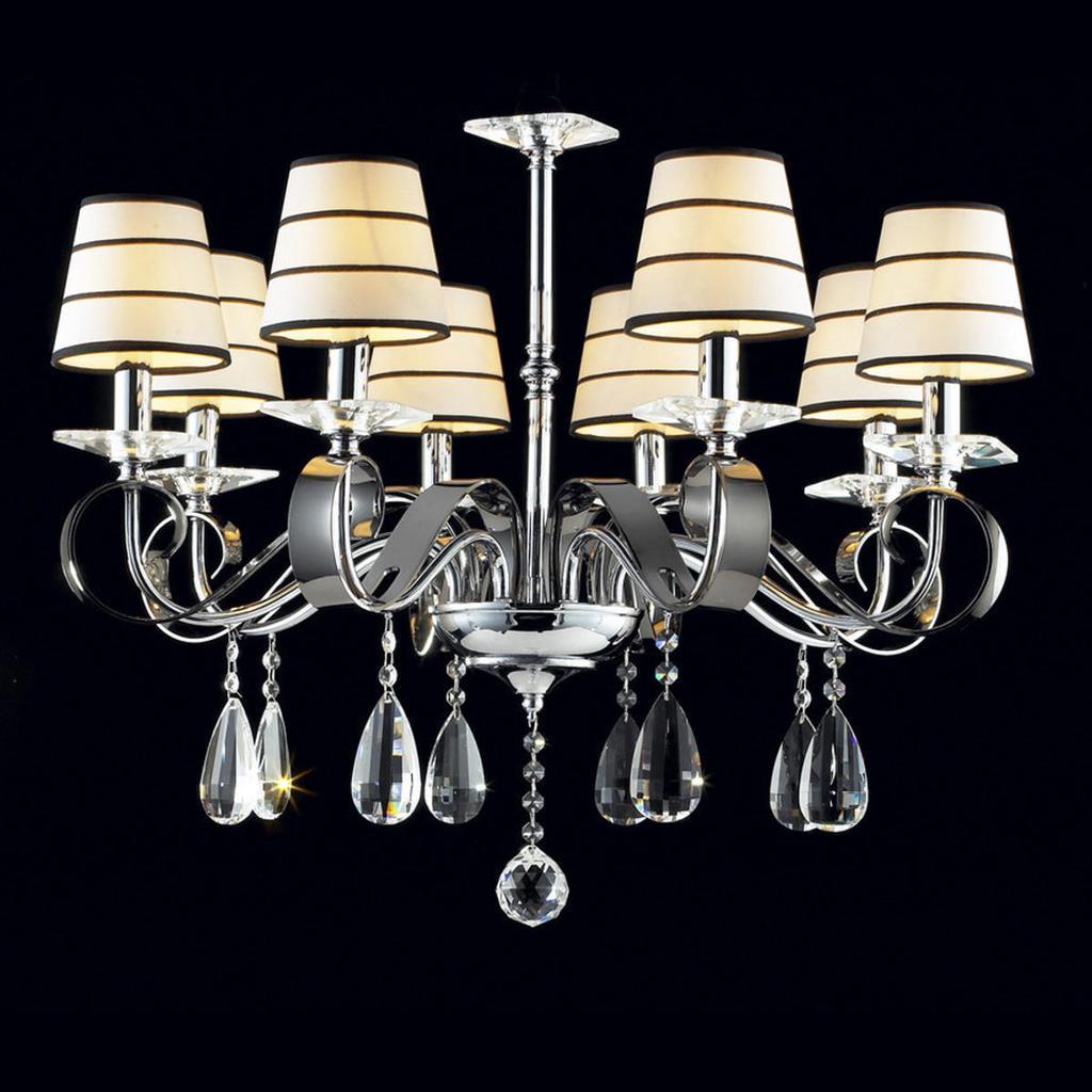 10Pcs Clear Chandelier Glass Crystal Lamp Pendants Drop Hanging DIY Home Decor