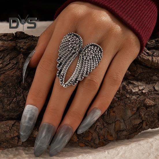 Необычные Trinket женщин кольца серебряный цвет носить устойчивый ангел крыло металлические кольца для партии купить недорого — выгодные цены, бесплатная доставка, реальные отзывы с фото — Joom