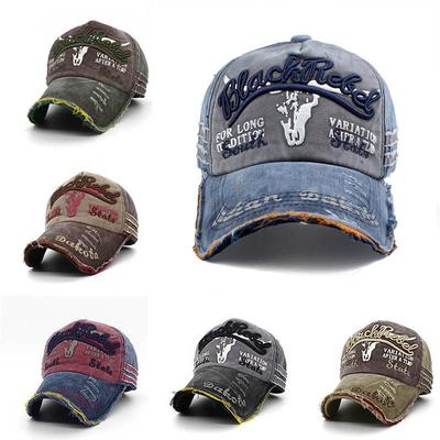 Novelty Features English Words Cowboy Hat Baseball Hats Trucker Adjustable Cap for Mens Womens