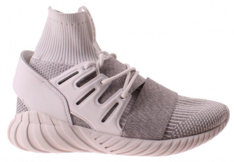Adidas Tubular Doom Primeknit, Men's High Top Sneakers, White (footwear White Footwear White Clear Gray), 46 23 Eu
