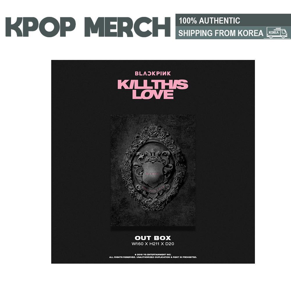 Blackpink 2nd Mini Album Kill This Love (version noire)