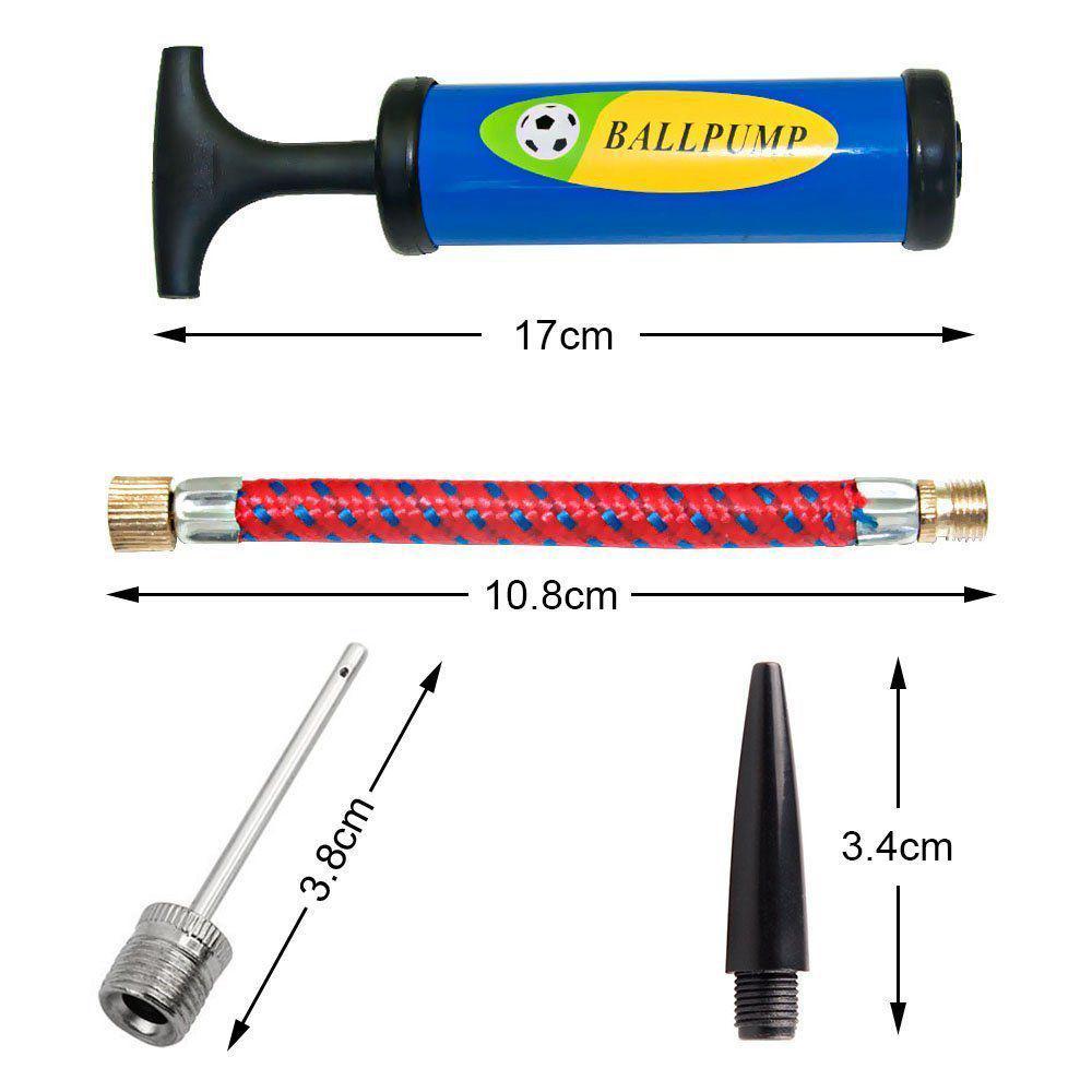 Inflator Ball Pump Needles Valve Adapter Set For Basketball Football BalloonsSZ