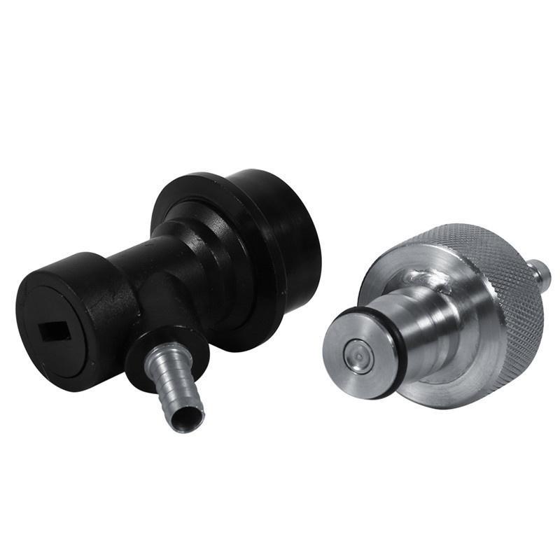 5//8 Zoll Homebrew Edelstahl Carbonation Cap Carbonate Ball Lock-PET-Flasche Neu
