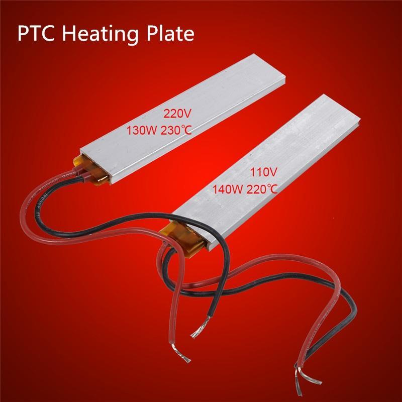 110V//220V Constant Temperature PTC Heating Element Thermostat Heater Plate New