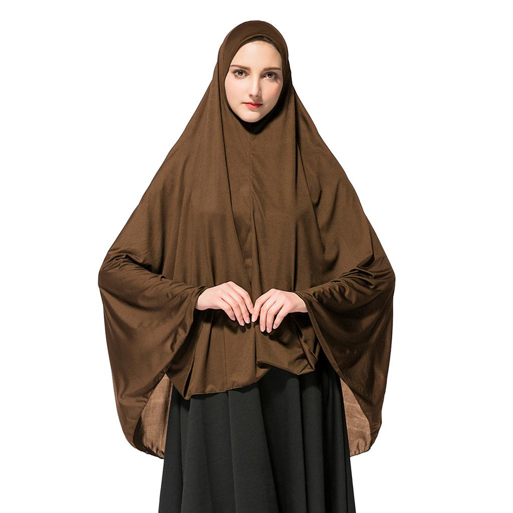 Women S Prayer Khimar Ready To Wear Long Hijab With Under Scarf Muslim Hussegken Buy At A Low Prices On Joom E Commerce Platform