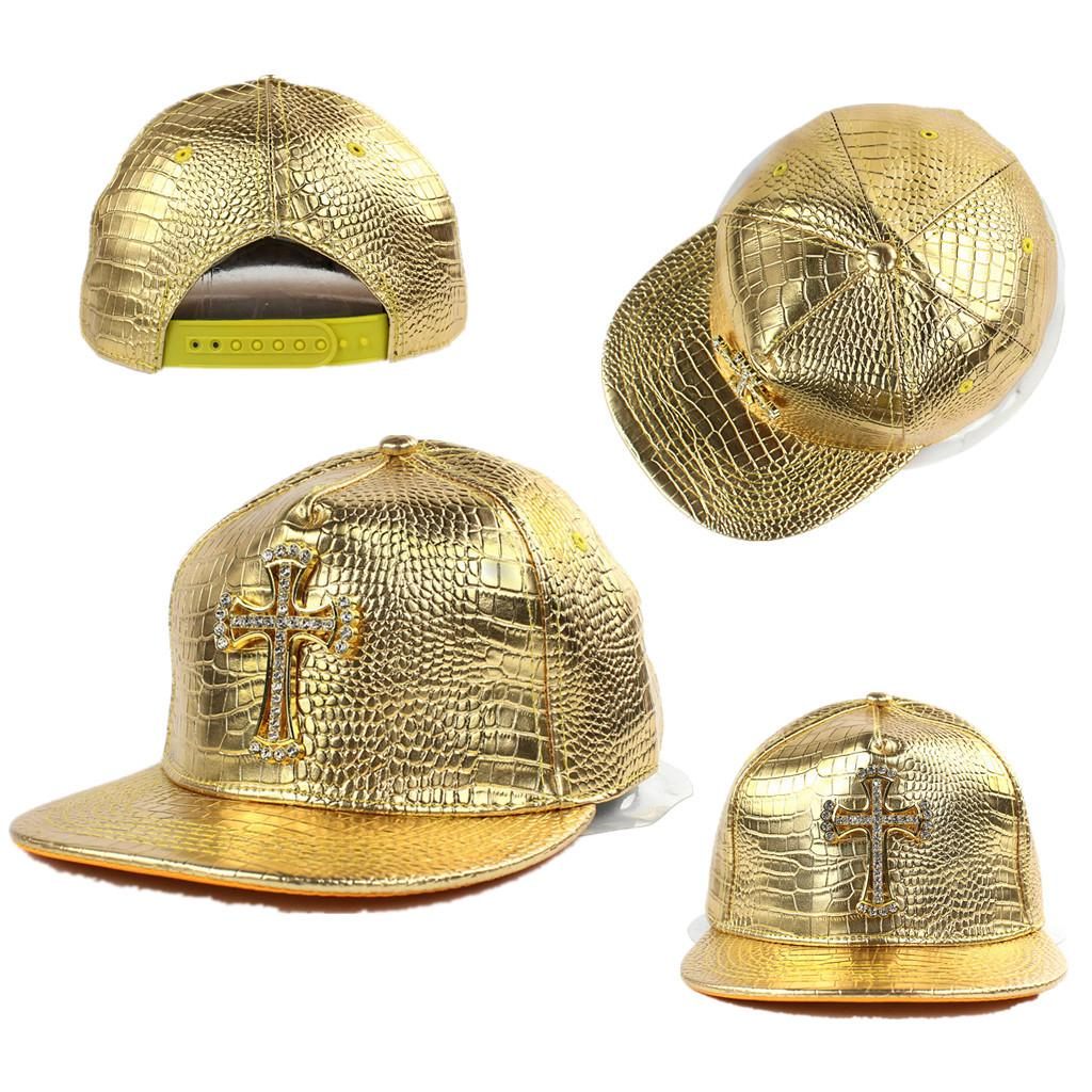 8eaae9cfe23 Crocodile Grain Hat Hip-Hop Hat Rhinestone Flat Bill Snapback Hat Dance Caps-buy  at a low prices on Joom e-commerce platform