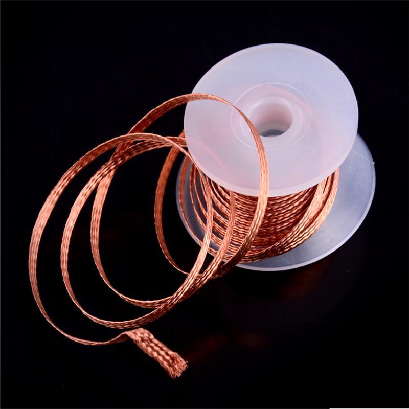 De tresse de soudage souder Remover Wick Wire Lead Cord Flux Réparation Outil