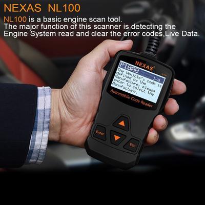 Nexas 2018 Nl100 Obd2 Auto Diagnostic Scanner Engines For Car Diagnostic  Tool