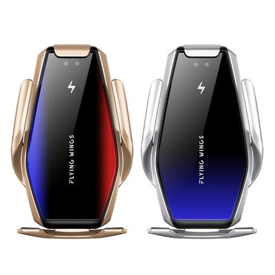 Automatic Clamping Car Wireless Charger 10W Quick Charge for