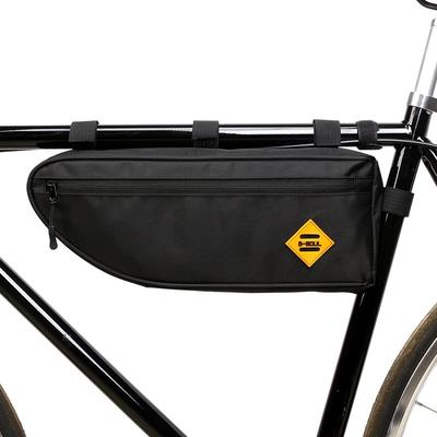 Front Top Tube Cycling Under Seat Pouch Waterproof Bike Triangle Frame Bag