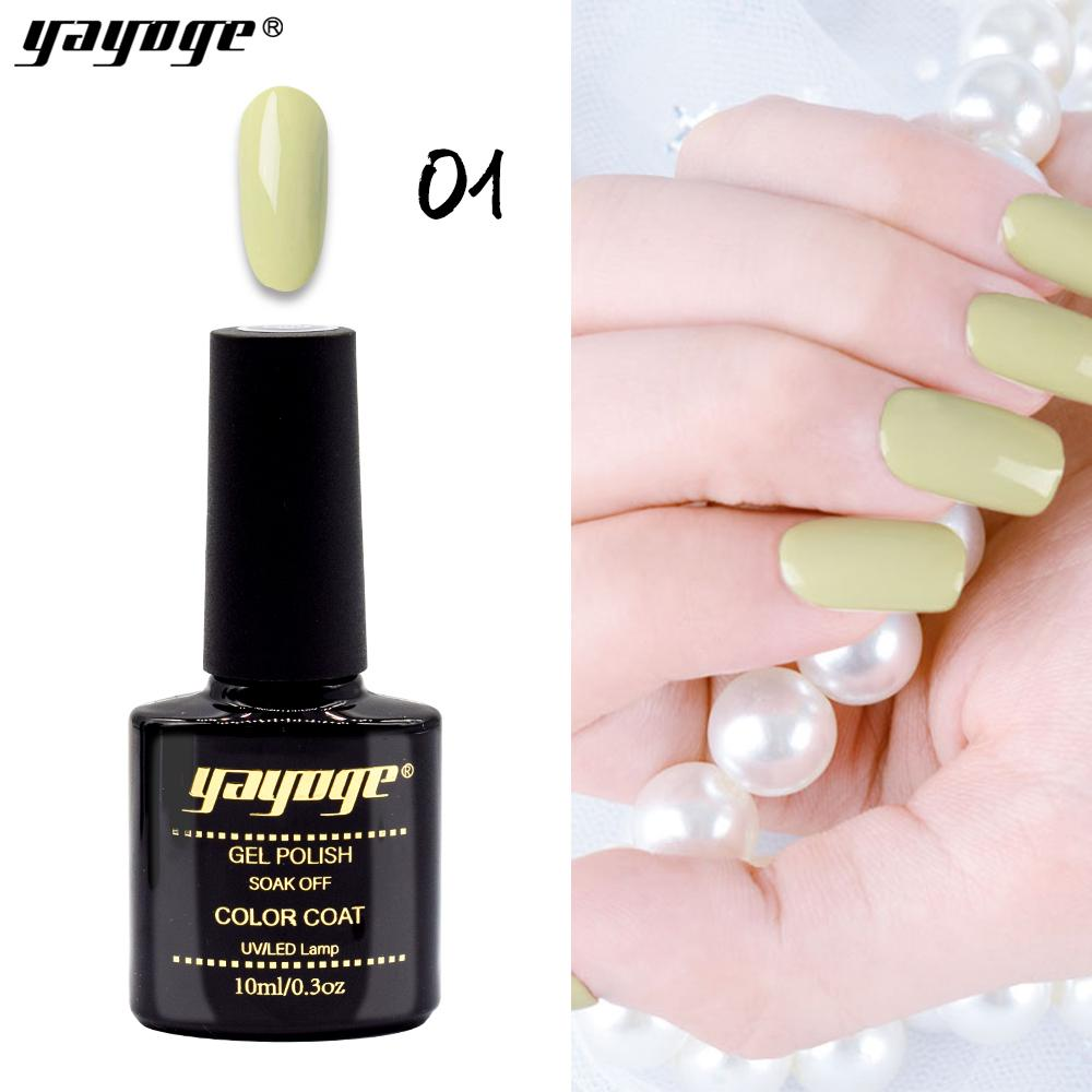 Yayoge Gel Nail Polish Cyan 6 Colors Uv Gel Varnish 10ml 0 3oz Odorless Design Manicure Buy At A Low Prices On Joom E Commerce Platform
